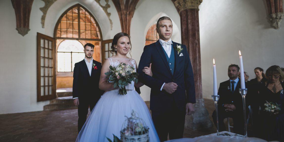 svatba zlatá koruna, český krumlov