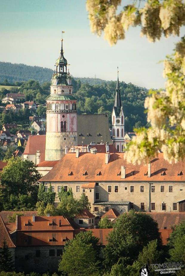 Český krumlov zámecká věž KasalFOTO