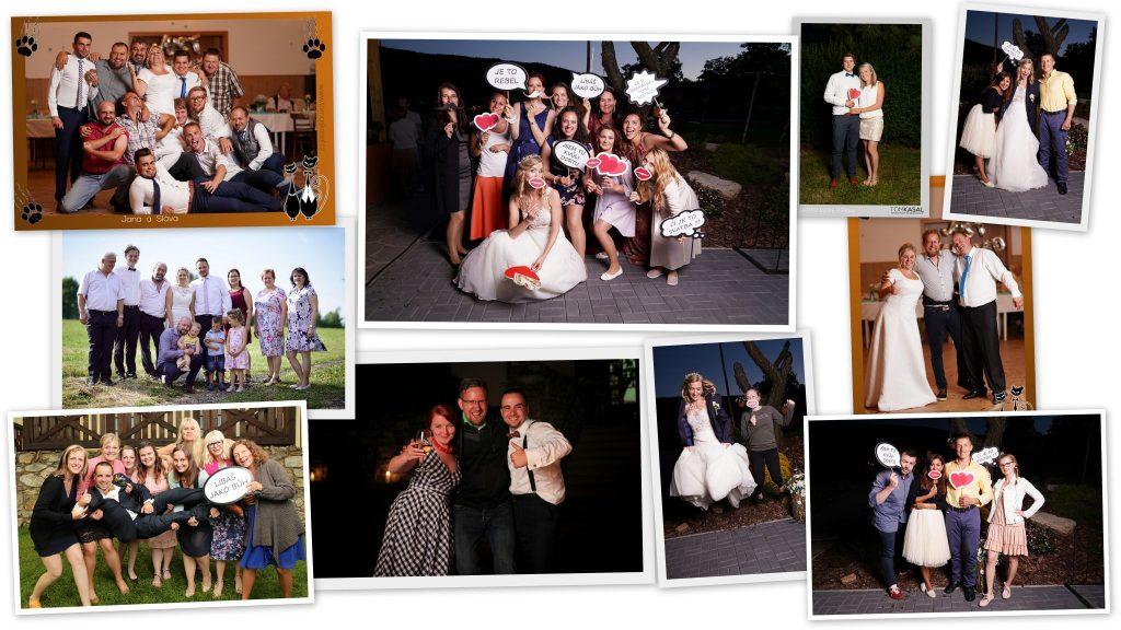 Fotokoutek na svatběm zábava na svatbu, svatební fotograf - Tomáš Kasal