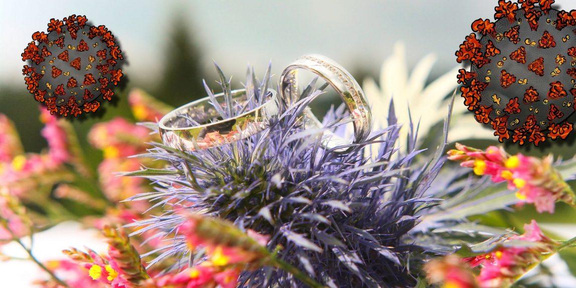 svatby v karanténě COVID-19