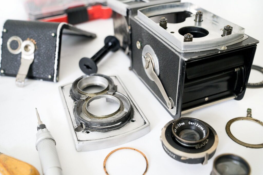 Rolleiflex Old Standard - rozebraný na díly k opravě, KasalFOTO