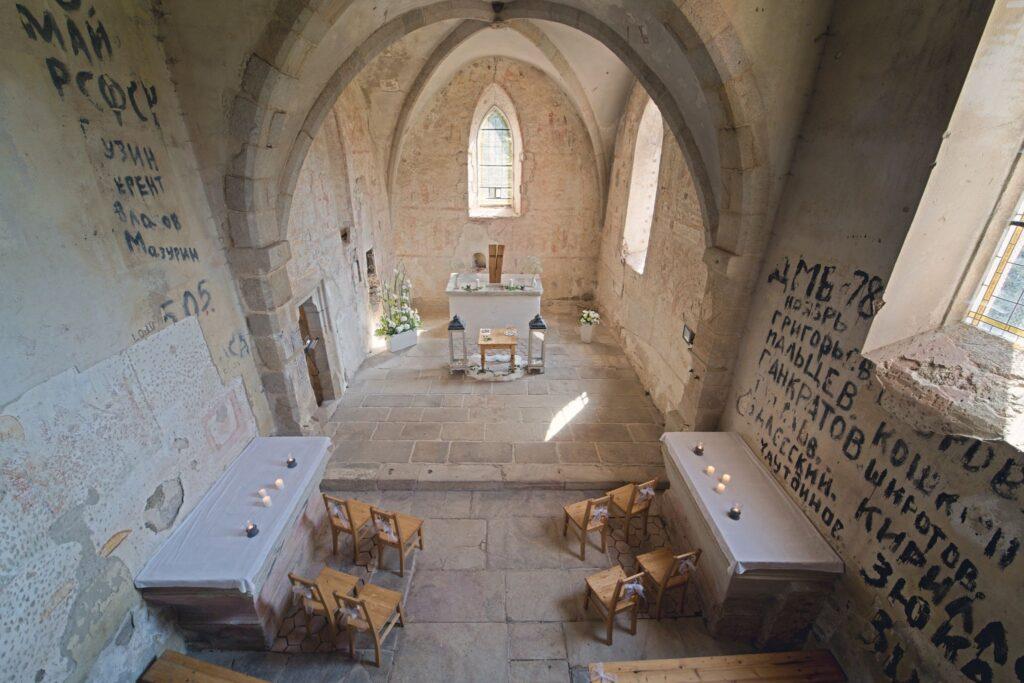 kůr kostela Svatého Mikuláše Boletice Kájov Tomáš Kasal svatební fotograf