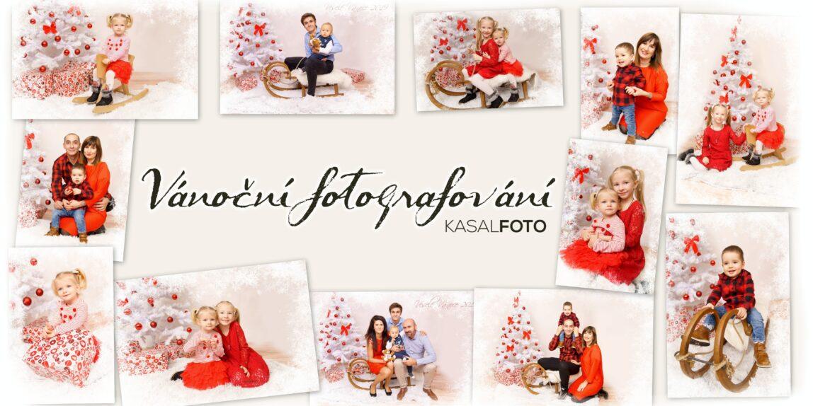 vánoční portréty v ateliéru