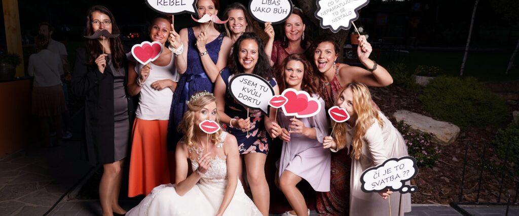 Fotokoutek na svatbě, zábava na svatbu, svatební fotograf Tomáš Kasal
